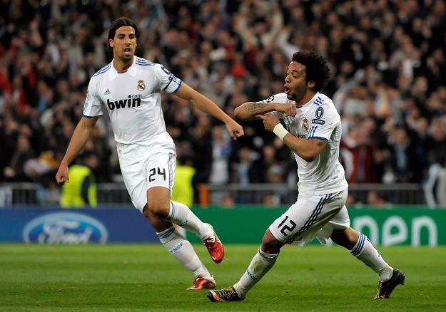 Marcelo (z prawej) strzelił pierwszego gola dla Realu i był jednym z najlepszych piłkarzy na murawie /AFP