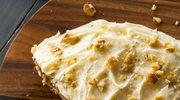Marchewkowo-migdałowy torcik bez mąki