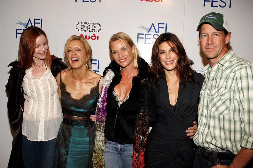 Marcia Cross, Felicity Huffman, Nicollette Sheridan, Teri Hatcher, James Denton /Frazer Harrison /Getty Images
