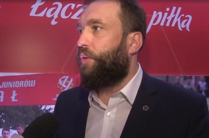 Marcin Animucki jest zadowolony z pozyskania sponsora /INTERIA.PL