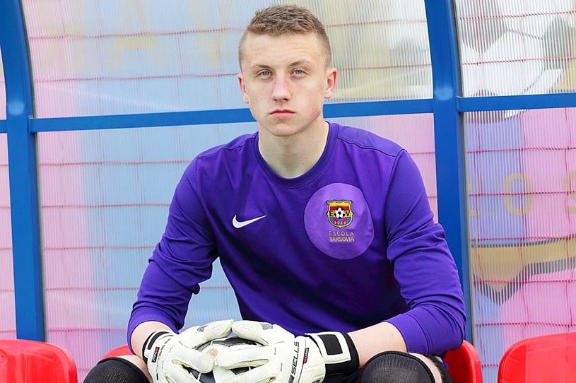 Marcin Bułka trenuje obecnie w szkółce FCB Escola Varsovia Fot. Materiały prasowe /INTERIA.PL
