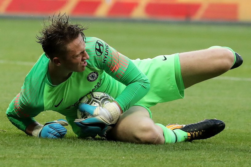 Marcin Bułka - wychowanek Escoli Barcelona, obecnie bramkarz Chelsea Londyn /VALERY HACHE /AFP