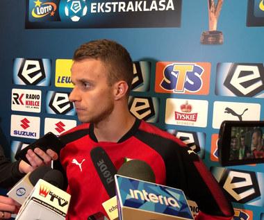 Marcin Cebula po meczu Korona - Jagiellonia. Wideo