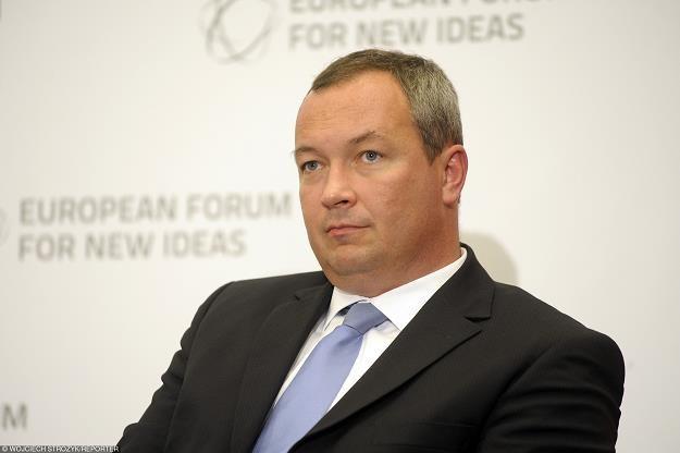 Marcin Celejewski, p.o. prezesa LOT. Fot. Wojciech Stróżyk /Reporter