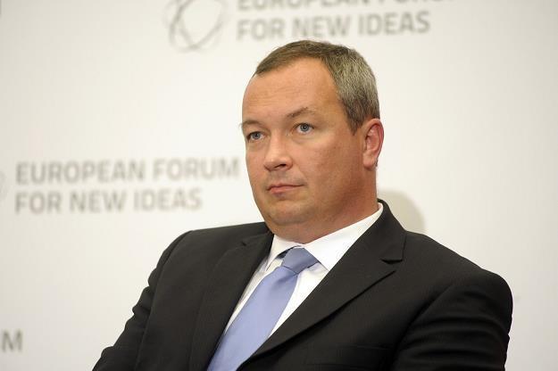 Marcin Celejewski, prezes PKP Intercity. Fot. Wojciech Stróżyk /Reporter