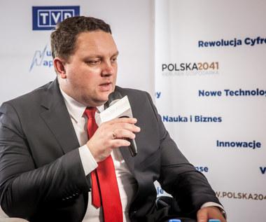 Marcin Chludziński, prezes Agencji Rozwoju Przemysłu w studiu Interii