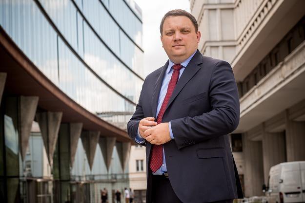 Marcin Chludziński, prezes KGHM. Fot. Marek Wiśniewski /FORUM