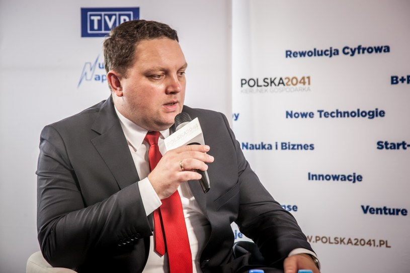 Marcin Chludziński, prezes KGHM Polska Miedź /INTERIA.PL