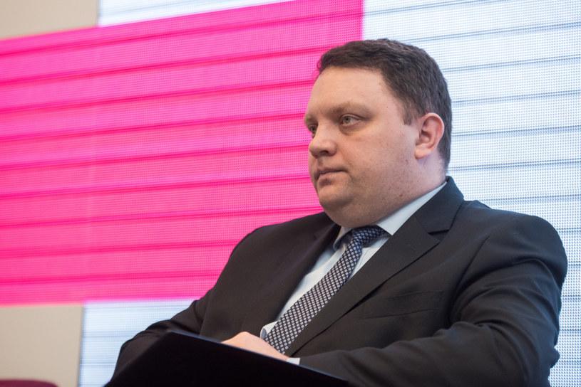 Marcin Chludzinski, prezes KGHM /Łukasz Piecyk /Reporter