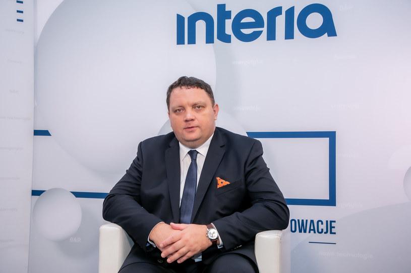 Marcin Chludziński, prezes KGHM /Fot. Ireneusz Rek /INTERIA.PL