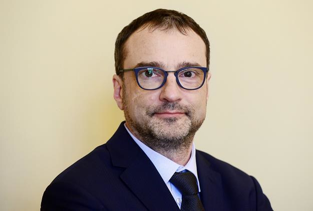 Marcin Czech, wiceminister zdrowia. Fot. Piotr Guzik /FORUM