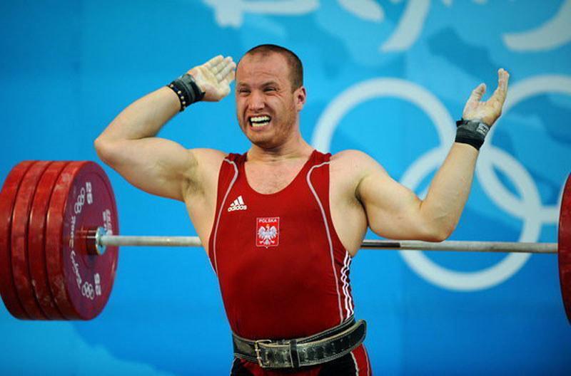Marcin Dołęga podczas igrzysk w Pekinie /AFP