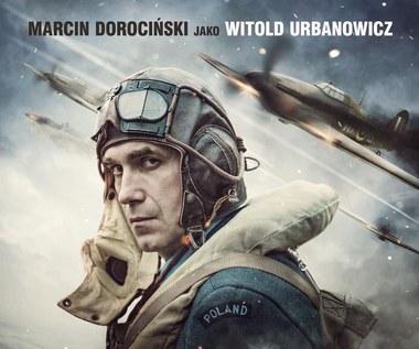 "Marcin Dorociński na plakacie filmu ""303. Bitwa o Anglię"""