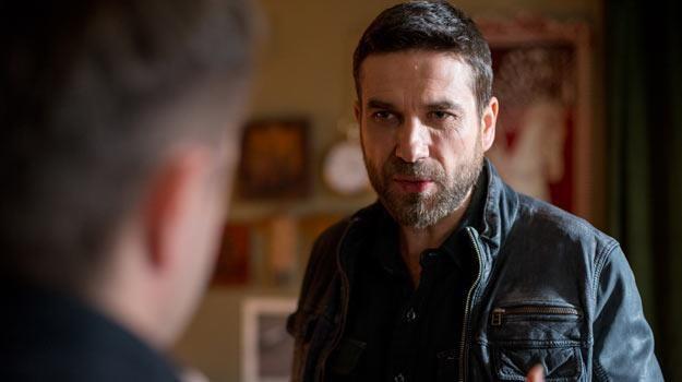 "Marcin Dorociński na planie serialu ""Pakt"" - fot. Piotr Lipiec /HBO"