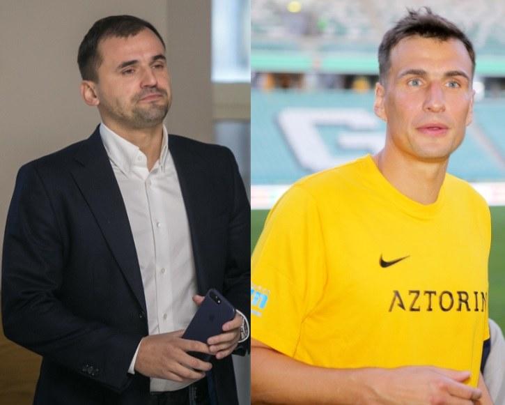 Marcin Dubieniecki i Jarek Bieniuk /East News