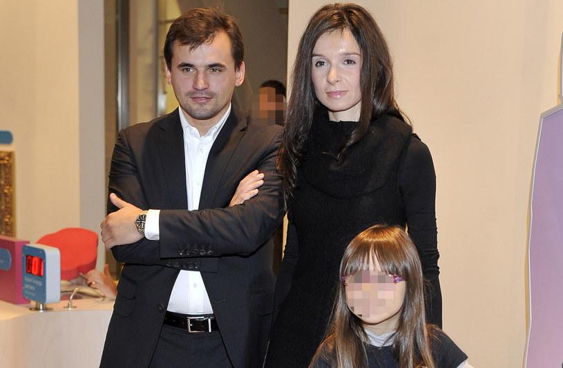 Marcin Dubieniecki i Marta Kaczyńska nie są już małżeństwem /Kurnikowski /AKPA