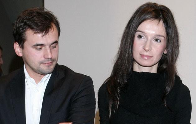 Marcin Dubieniecki i Marta Kaczyńska /Paweł Wrzecion /MWMedia