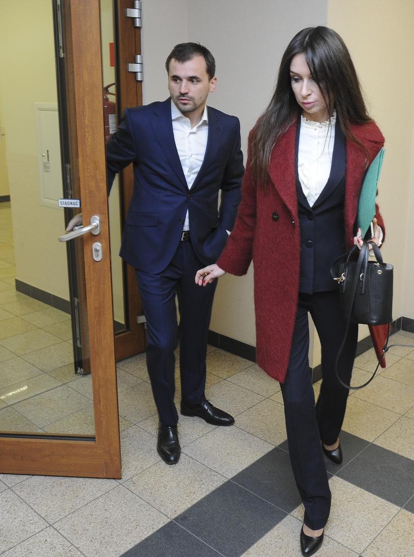 Marcin Dubieniecki i Marta Kaczyńska /Karolina Misztal /Reporter