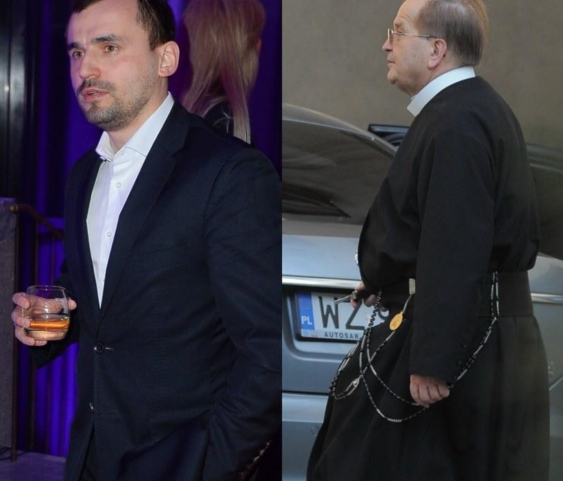 Marcin Dubieniecki i Rydzyk /MWMedia