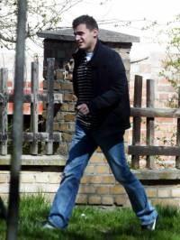 Marcin Dubieniecki w sobotę przed wyjazdem na ślub, fot. Przemysław Stoppa  /East News