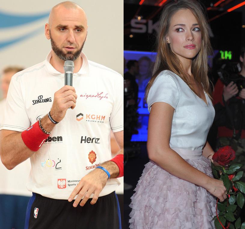 Marcin Gortat, Alicja Bachleda-Curuś, fot. Paweł Wrzecion /Andras Szilagyi /MWMedia