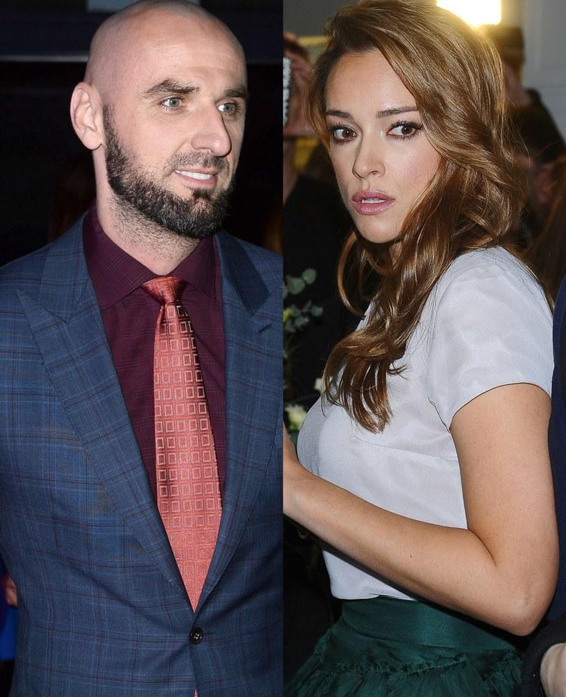 Marcin Gortat i Alicja Bachleda-Curuś (fot. Jarosław Antoniak, Andras Szilagyi) /MWMedia