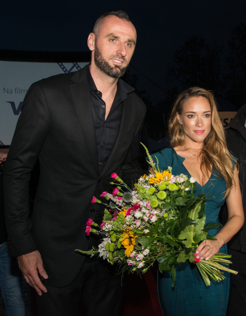 Marcin Gortat i Alicja Bachleda-Curuś /Marcin Szkodziński /Agencja FORUM