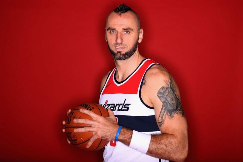 Marcin Gortat jest jedynym Polakiem w NBA /AFP