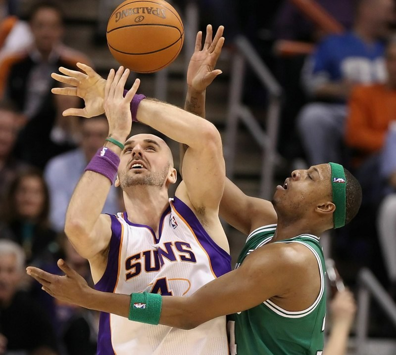 Marcin Gortat, koszykarz Phoenix Suns /AFP