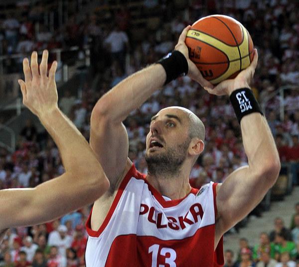 Marcin Gortat, najlepszy polski koszykarz /AFP