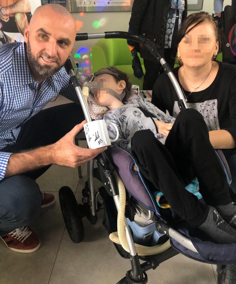 Marcin Gortat odwiedził hospicjum /materiał zewnętrzny