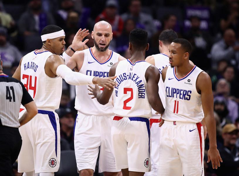 Marcin Gortat w barwach Los Angeles Clippers /Getty Images