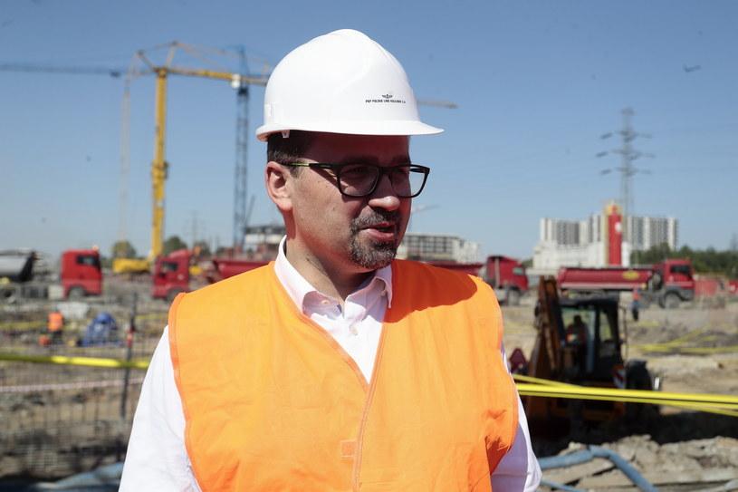 Marcin Horała, pełnomocnik rządu ds. CPK /Adam Jankowski /Getty Images