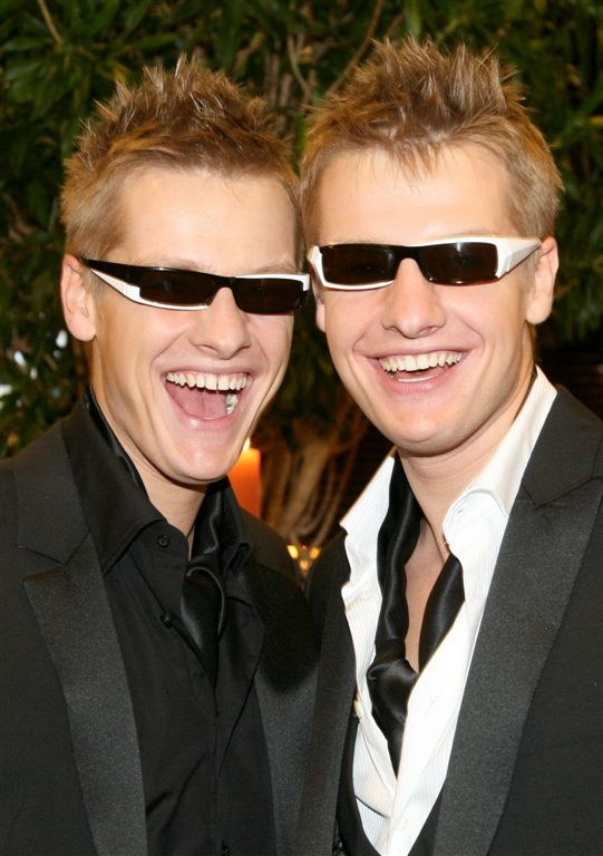 Marcin i Rafał Mroczkowie nigdy nie marzyli o karierze filmowej /Agencja W. Impact