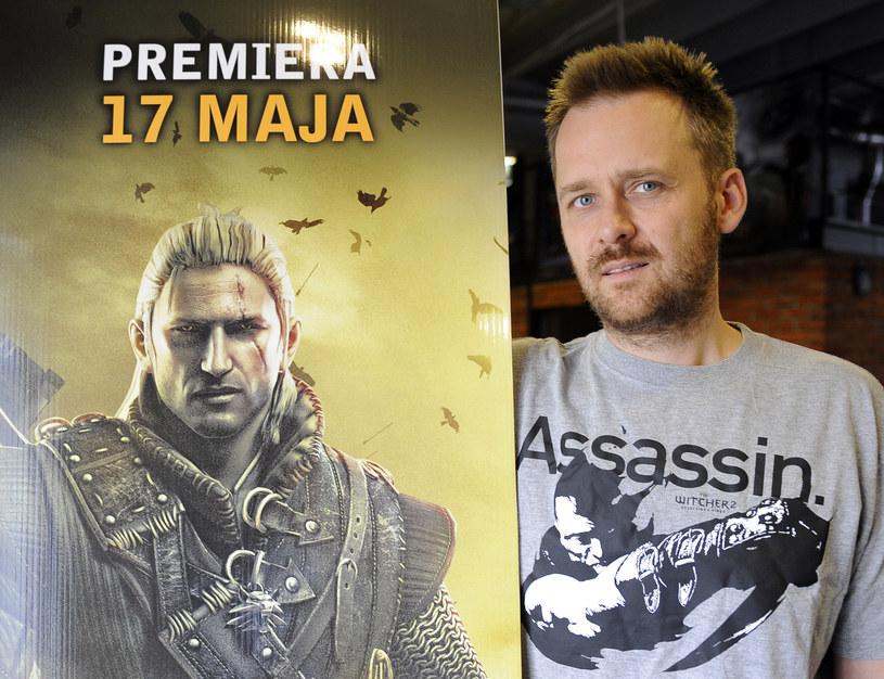 Marcin Iwiński, założyciel firmy CD Projekt /AFP