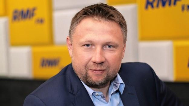 Marcin Kierwiński /Jakub Rutka /Archiwum RMF FM
