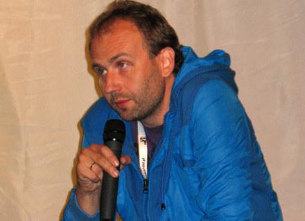 Marcin Koszałka na spotkaniu z publicznością w Zwierzyńcu, fot. Bartosz Stoczkowski /INTERIA.PL