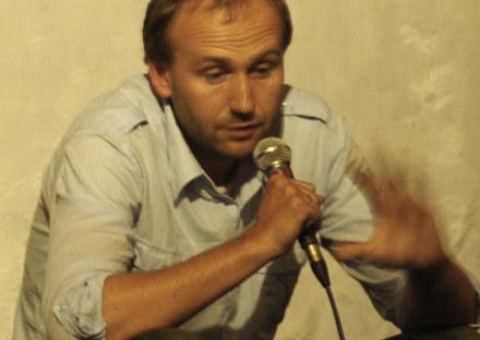 Marcin Koszałka podczas dyskusji ze zwierzyniecką publicznością /INTERIA.PL