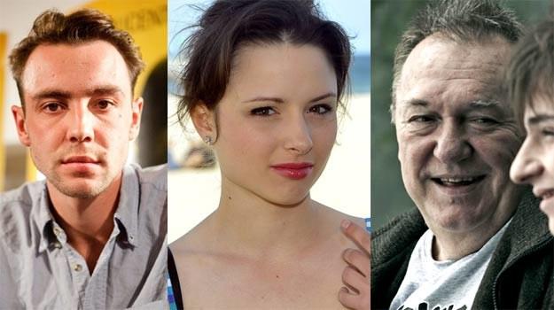 """Marcin Kowalczyk (""""Jesteś bogiem""""), Anna Próchniak (""""Bez wstydu"""") i Michał Urbaniak (""""Mój rower""""). /AKPA"""