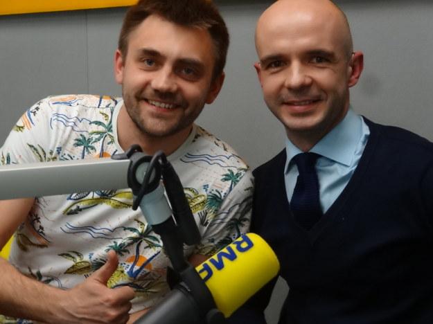 Marcin Kozioł i Michał Majchrzak /Grzegorz Jasiński /RMF FM