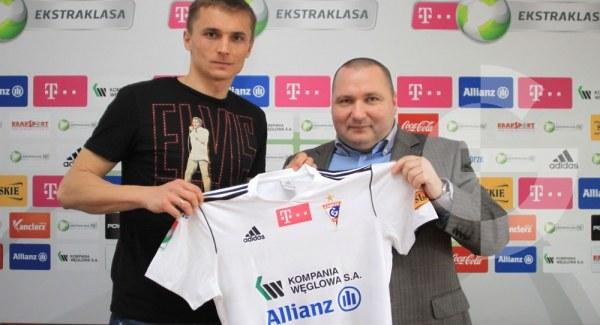 Marcin Kuś i Krzysztof Maj /Dariusz Hermiersz/www.gornikzabrze.pl /Informacja prasowa