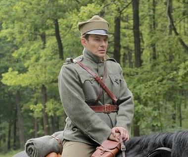 Marcin Kwaśny jako rotmistrz Pilecki
