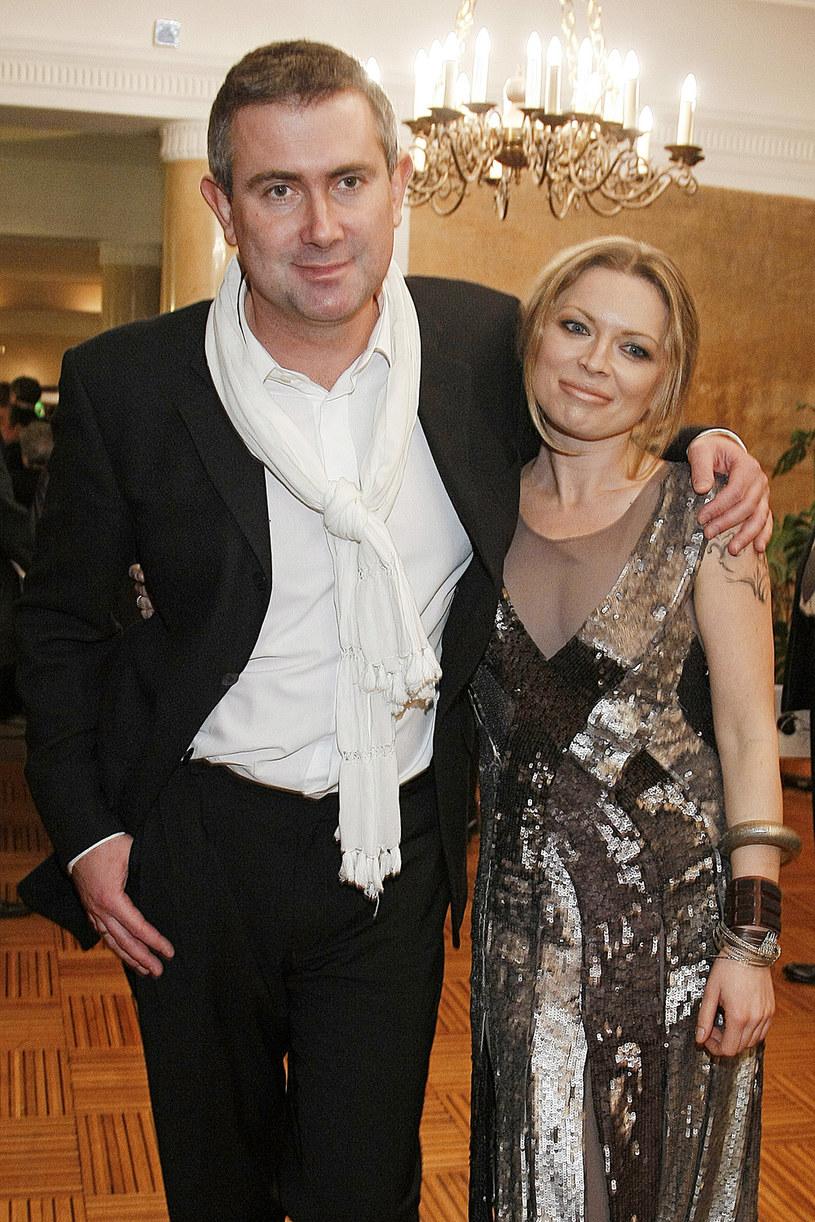Marcin Kydryński i Anna Maria Jopek /Jacek Grąbczewski /AKPA