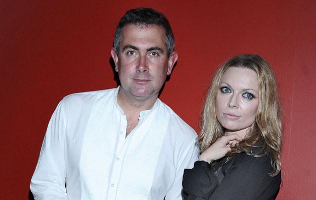 Marcin Kydryński z żoną Anną Marią Jopek, fot.Andras Szilagyi  /MWMedia