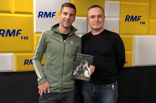 Marcin Lewandowski i Patryk Serwański /Michał Dukaczewski /RMF FM