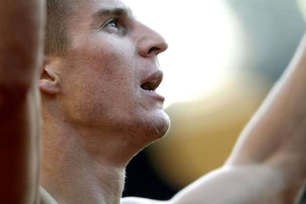 Marcin Lewandowski ma już minimum na HME. /AFP