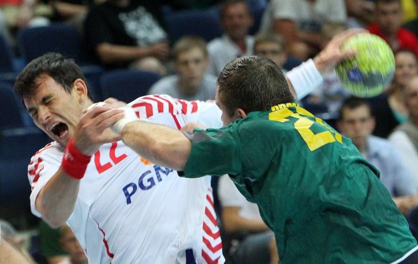 Marcin Lijewski (z lewej) /AFP