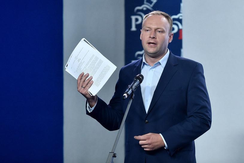 Marcin Mastalerek był rzecznikiem prasowym PiS /Mateusz Jagielski /East News