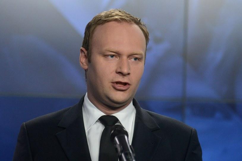 Marcin Mastalerek uważa, że prezydent Komorowski swoją wypowiedzią obraził miliony Polaków /Mateusz Jagielski /East News