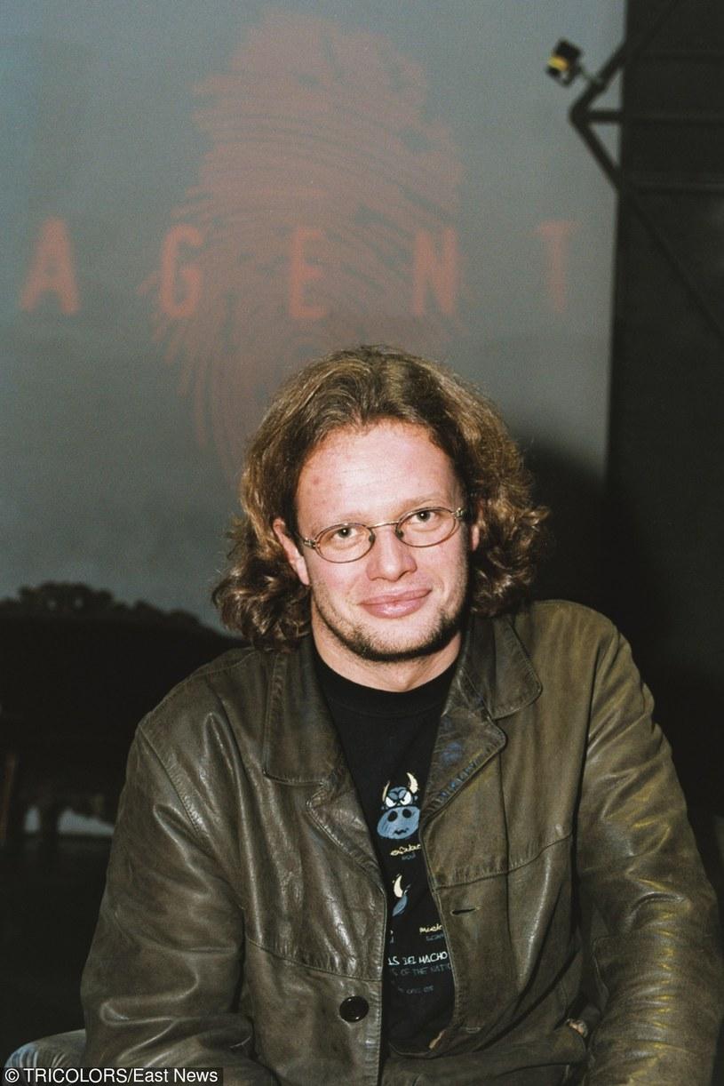 """Marcin Meller z czasów prowadzenia """"Agenta"""" /Tricolors /East News"""